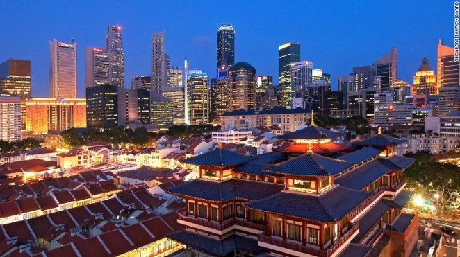 Singapore's condensed, hot and heavily populated landscape is challenging for urban living but the city-state continues to have a high liveability factor due to well-planned and population-focused urban design.