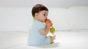 No, your baby's fever was not caused by teething