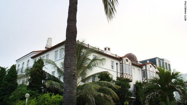Versaces former South Beach mansion for sale 125 million  CNNcom
