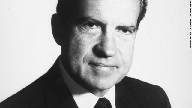 President Richard Nixon was in the White House from 1969 to 1974, when he became the first president to resign from office. He died at 81 in 1994. Here's a look at his life and legacy: