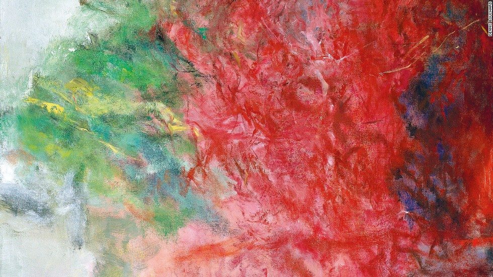 2004. Erable rouge I. Oil on canvas.