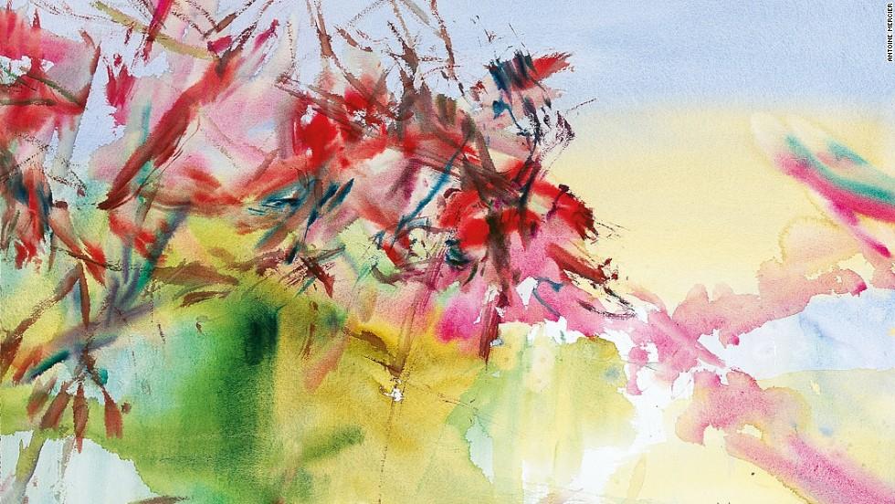2008. Untitled (La Cavalerie). Watercolor on paper.