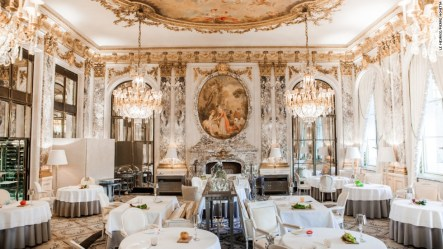 restaurants expensive most europe paris le meurice restaurant luxury ducasse alain france french dining court food meal fine cuisine hotel