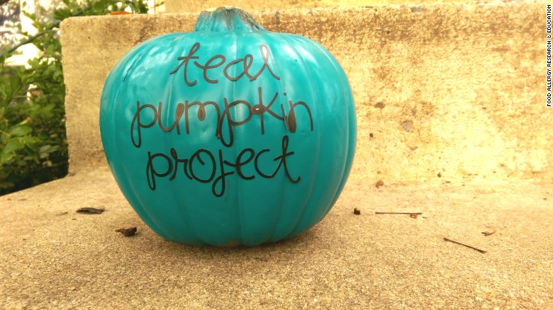 Image result for teal pumpkin