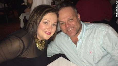 Kimberly and Marty Gutzler in a photo from his Facebook page.