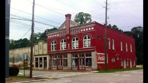 "The tiny downtown of sleepy Grantville, Georgia, featured on the hit AMC show ""The Walking Dead,"" is for sale on eBay."