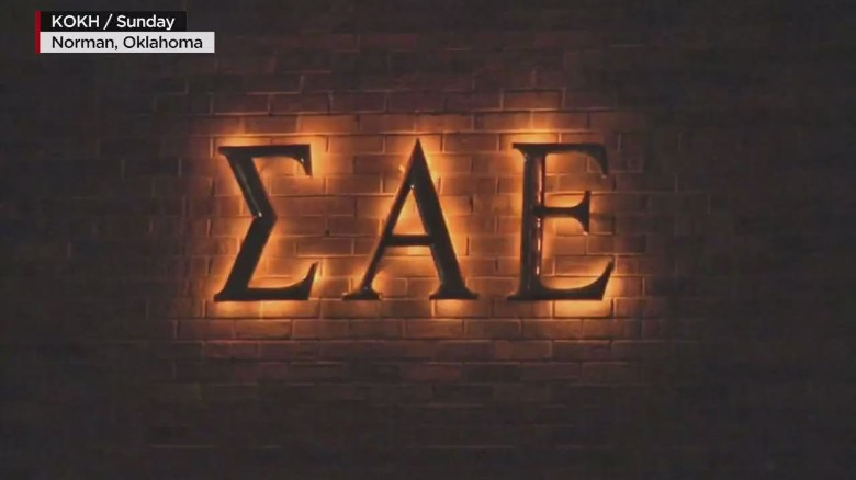 A Sigma Alpha Epsilon fraternity member apologizes for racist chant
