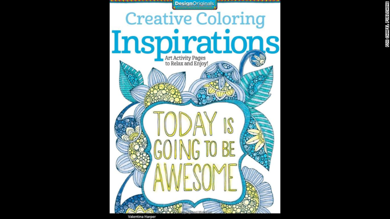 """""""<a href=""""http://www.amazon.com/Creative-Coloring-Inspirations-Activity-Pages/dp/1574219723/ref=sr_1_1?s=books&ie=UTF8&qid=1429573000&sr=1-1&keywords=Creative+Coloring+Inspirations%3A+Art+Activity+Pages+to+Relax+and+Enjoy%21"""" target=""""_blank"""">Creative Coloring Inspirations</a>: Art Activity Pages to Relax and Enjoy!"""" by Valentina Harper gives doodlers of all ages a chance to make the page sing with color.<br />"""