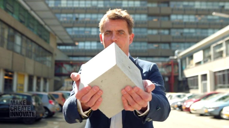 The 'living concrete' that can heal itself (CNN IMAGE)