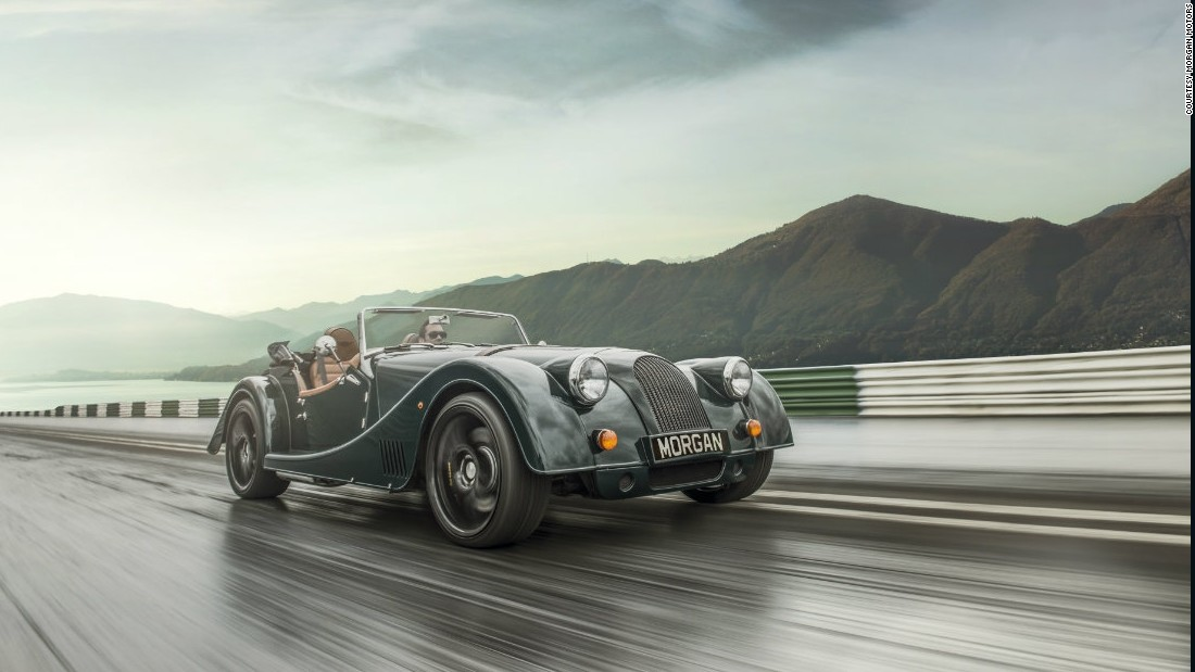 British car maker Morgan Motors has been in business for 106 years, and its cars retain a vintage look.