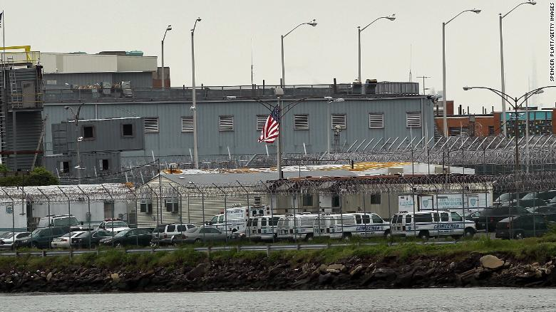 Rikers Island in New York.