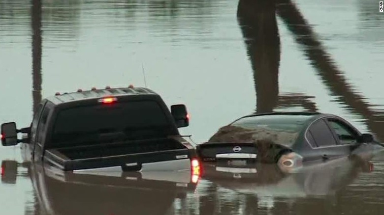 Flooding plagues Texas and Oklahoma