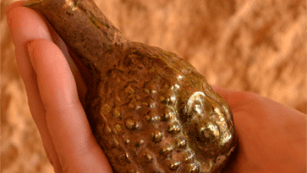 Schofield also uncovered a Roman-era perfume flask