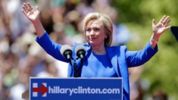 Hillary Clinton's career in the spotlight