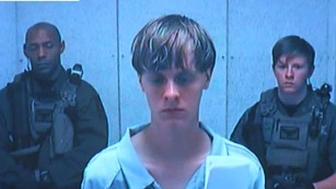 Shooting suspect Dylann Roof appears in court