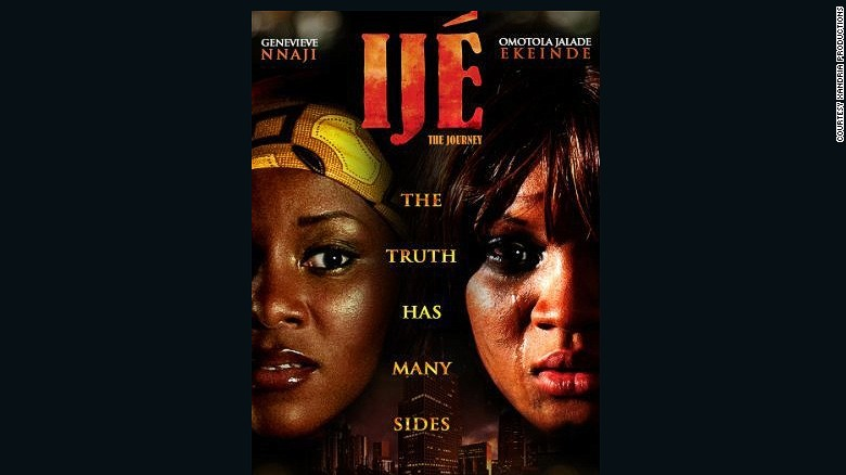 "Poster for ""Ijé: The Journey"" Nollywood's highest grossing film so far."