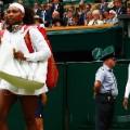 Serena Venus walk on