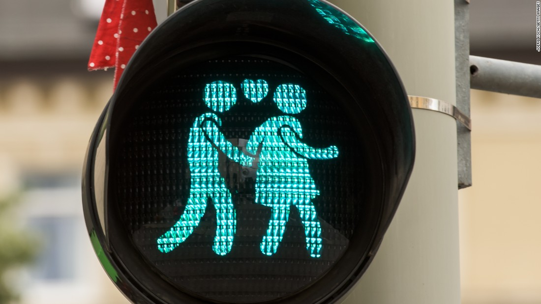New Traffic Lights in Munich, Germany