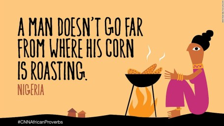African proverbs 8 corn
