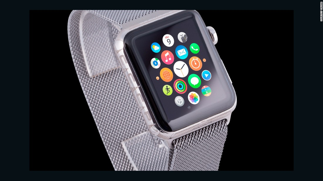 Caviar's Apple Watch Epoca Lenin edition