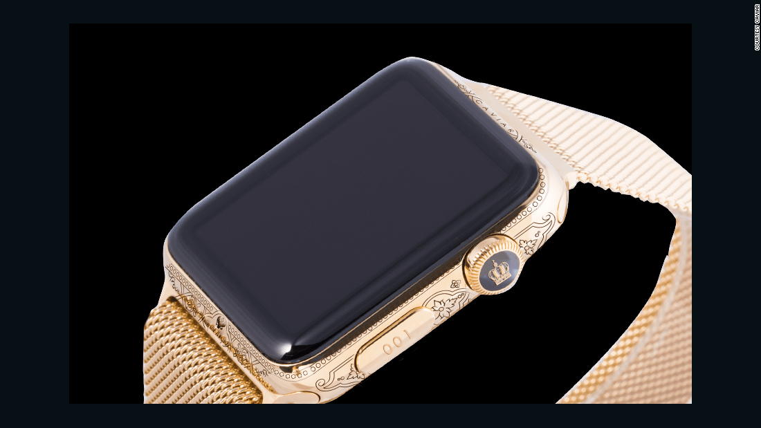 Caviar's Apple Watch Epoca Peter the Great edition