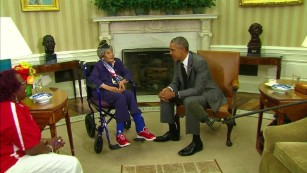 Longest living veteran dies month after White House visit