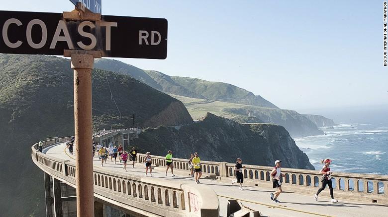 Big Sur International Marathon is one of the world's most spectacular challenges.