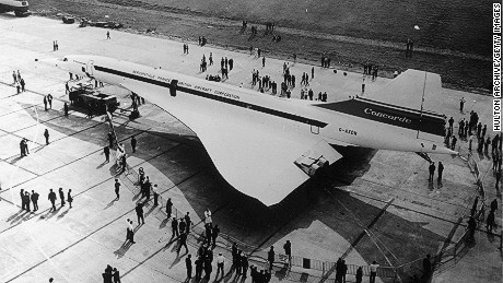 Once at the forefront of aviation, in  1972 Iran Air ordered two Concorde supersonic jets.