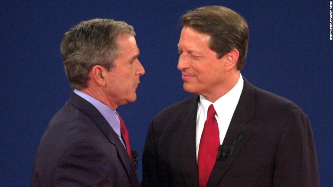 Image result for gore bush 2000