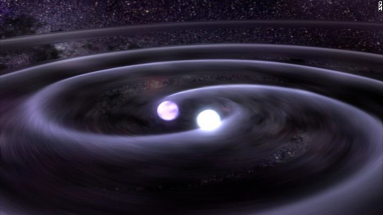 Einstein's general theory of relativity reveals that gravity is simply a bending of space.  One of the predictions of that theory is two closely-orbiting astronomical bodies will lose energy by a phenomenon called gravitational waves.