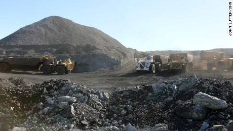 The nearby Crow Reservation has encouraged coal mining. Members receive royalty payments three times per year.
