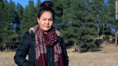 Vanessa Braided Hair is the co-founder of ecoCheyenne, a local environmental group that opposes fossil fuel extraction.