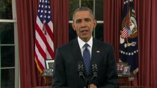 President Obama's full Oval Office address