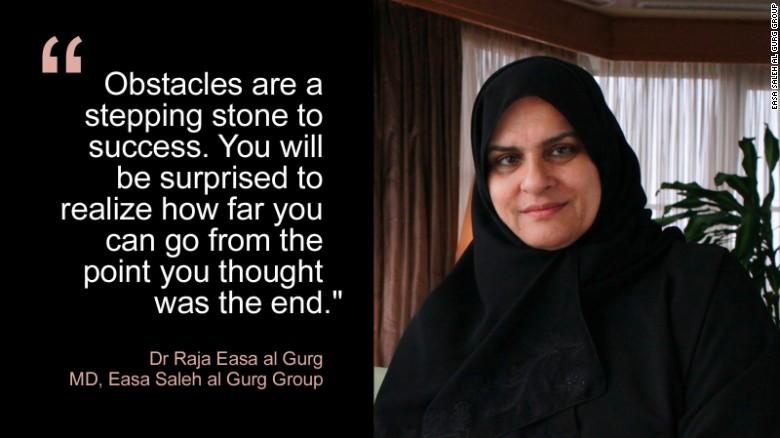 Dr Raja Easa al Gurg blast