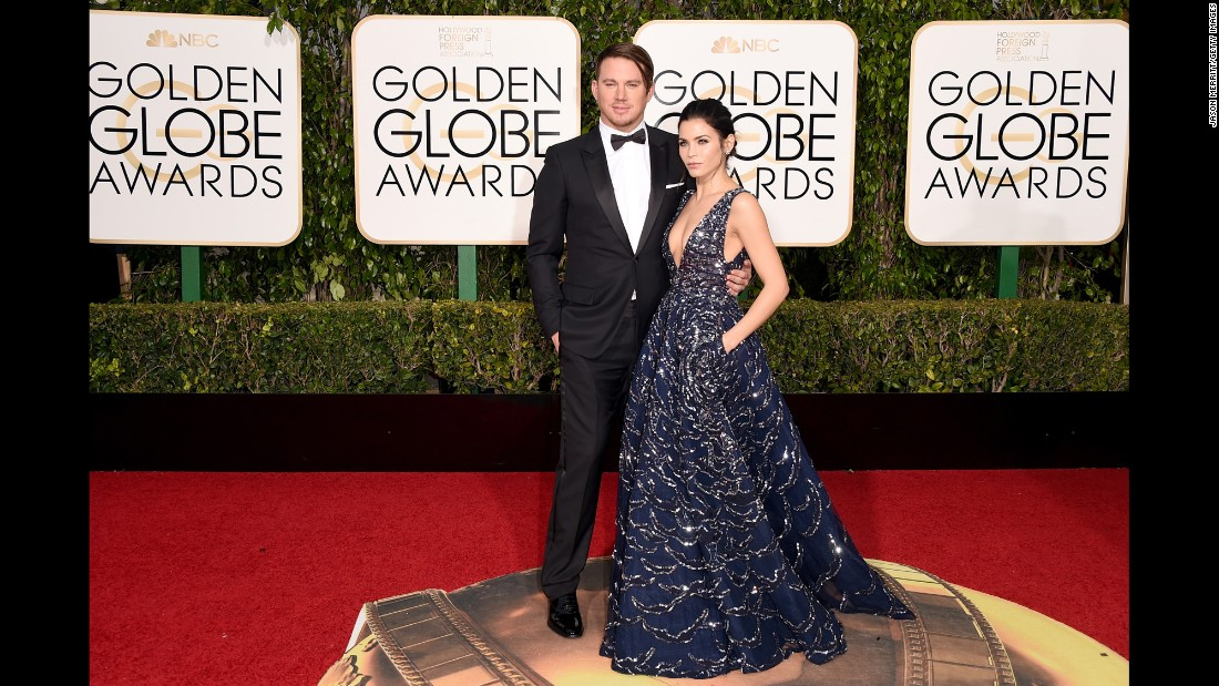 Channing Tatum and his wife, Jenna Dewan Tatum