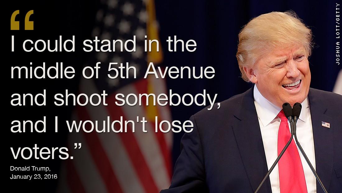 Image result for donald trump violence