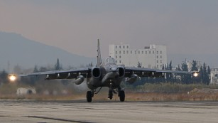 Russian air power has helped Syrian government forces cut off the last major supply route to rebels in Aleppo.