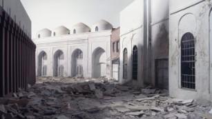 Artist Wafaa Bilal uses blank books to rebuild Baghdad's war-torn library
