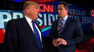 Donald Trump's entire post GOP debate interview