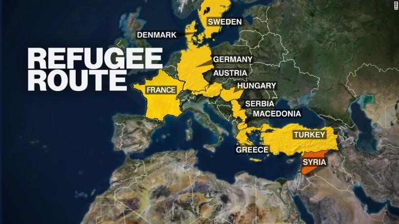Tens of thousands of Syrians have fled carnage at home for the promise of safety in Europe.