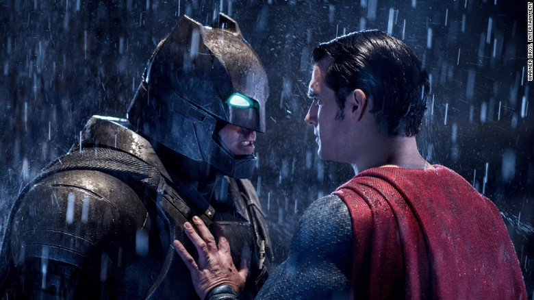 """""""Batman v Superman: Dawn of Justice"""" opens Friday, March 25, but it feels like a summer movie: superheroes, special effects and almost certain success. Ben Affleck plays Batman opposite Henry Cavill's Superman; Zack Snyder, who made """"Man of Steel,"""" directs."""