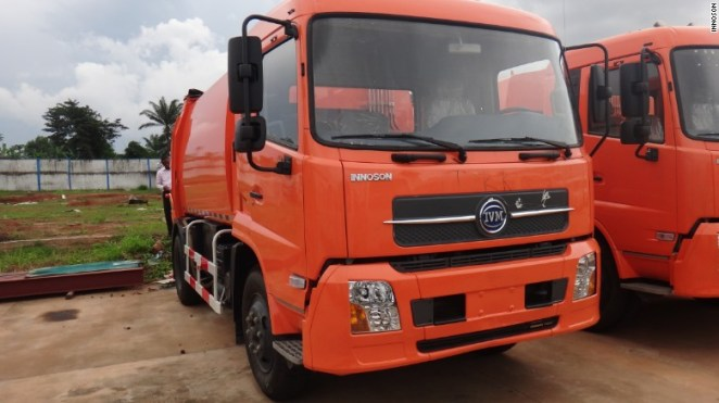 The group also manufactures garbage trucks, vans and taxis.