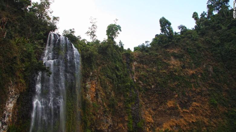 The region around Bonga is home to 14 waterfalls.