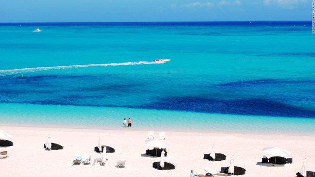 """Locally known as """"Provo,"""" Providenciales is the most developed island in Turks and Caicos. Most of its infrastructure is found along the 12-mile Grace Bay beach."""