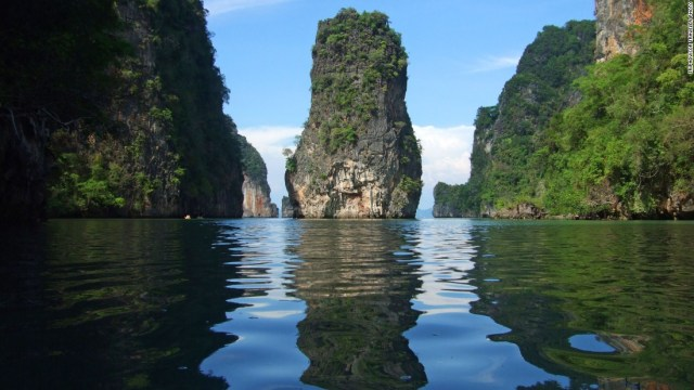 Although the Thai island of Ko Tao didn't make the list this year, another Thai favorite did: Phuket, with its fabulous diving and imposing rock formations.