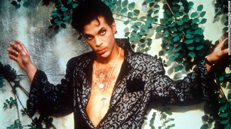Prince in 1987
