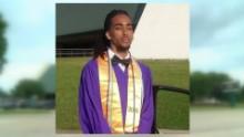 Valedictorian can't walk graduation beard pkg_00001803.jpg