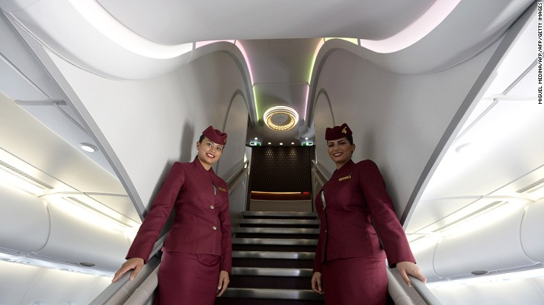 """Qatar Airways, Qatar's state-owned flag carrier, was named 2016's second-best airline in the world by Skytrax, having claimed the top spot in 2015. """"Business Class in Qatar Airways's new aircrafts like A350 or B787 is a top-notch product,"""" says 202countries from Hanau, Germany. <br />"""
