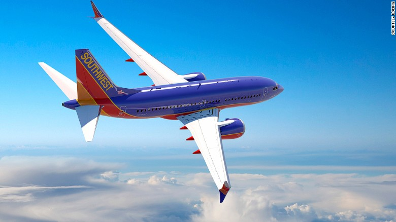 Southwest is a major U.S. airline and the world's largest low-cost carrier. It ranked second in North America for customer satisfaction by J.D. Power in 2016. The Boeing 737MAX (pictured) is set to launch with Southwest Airlines in late 2017.<br />