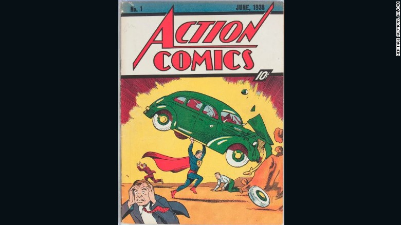 The rare copy of a comic book was expected to sell for  $750,000, but sold for $956,000 instead.